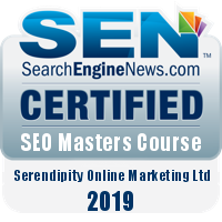 Graham Baylis is a Certified SEO Master - SearchEngineNews.com